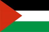 Флаг страны Палестина