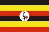 Флаг страны Уганда