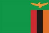 Флаг страны Замбия