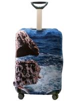 Чехол на чемодан Море Камень