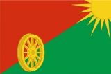 Флаг района Бирюлево Западное города Москвы