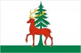 Флаг города Ельц Липецкой области