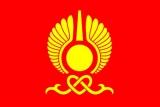 Флаг города Кызыл