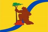 Флаг района Хорошево-Мневники города Москвы