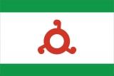 Флаг субъекта РФ Республика Ингушетия