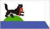 Флаг города Иркутск