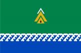 Флаг района Нижневартовский ХМАО