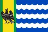 Флаг района Озерский Московская область