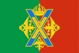 Флаг района Преображенское города Москва