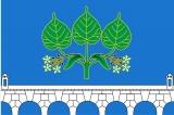 Флаг района Ростокино города Москвы