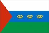 Флаг субъекта РФ Тюменская область