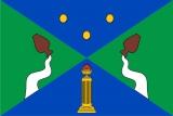 Флаг Юго-Западного АО Москвы