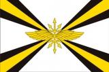Флаг Войск связи ВС РФ