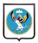 Герб Республики Алтай (гербовое панно)