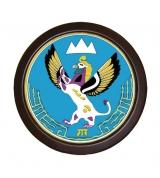 Герб Республики Алтай (герб круглый)