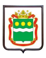 Герб Амурской области (гербовое панно)