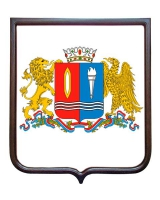 Герб Ивановской области (гербовое панно)