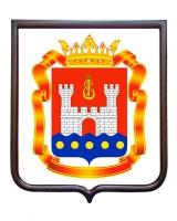 Герб Калининградской области (гербовое панно)