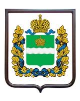 Герб Калужской области (гербовое панно)