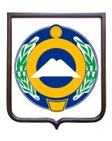 Герб Карачаево-Черкесской Республики (гербовое панно)