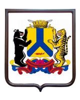 Герб города Хабаровска (гербовое панно)