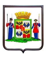 Герб города Краснодара (гербовое панно)