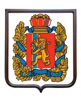 Герб Красноярского края (гербовое панно)