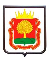 Герб Липецкой области (гербовое панно)