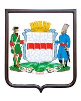 Герб города Омска (гербовое панно)