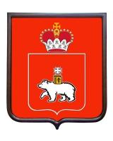 Герб Пермского края (гербовое панно)