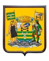 Герб города Петрозаводска (гербовое панно, полный герб)