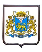 Герб города Пскова (гербовое панно)