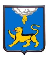 Герб Псковской области (герб малый)