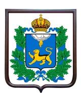 Герб Псковской области (гербовое панно)