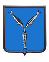 Герб Саратовской области (герб малый)