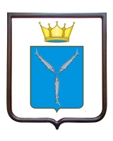 Герб Саратовской области (гербовое панно)