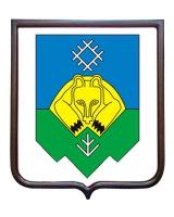 Герб города Сыктывкара (гербовое панно)