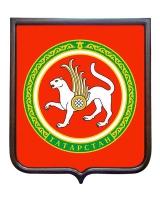 Герб республики Татарстан (гербовое панно)