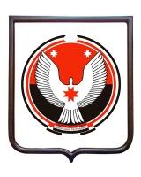 Герб Удмуртской Республики (гербовое панно)