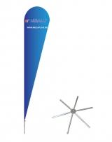 Мобильный флагшток Крыло основание Ромашка