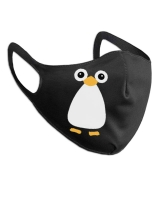 Маска защитная многоразовая Пингвин