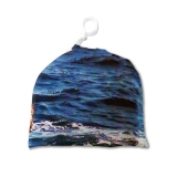 Сумка для чехла на чемодан Море камень