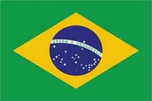 Флаг страны Бразилия